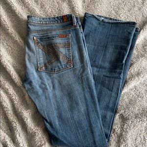 7 FOR ALL MANKIND Flynt blue jeans size 31